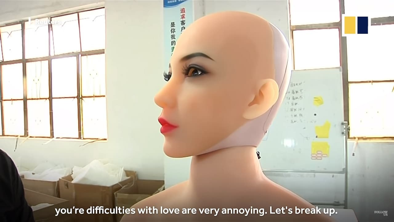 Chinese sex doll maker jumps on AI drive